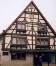 Gall's house in Tiefenbronn.